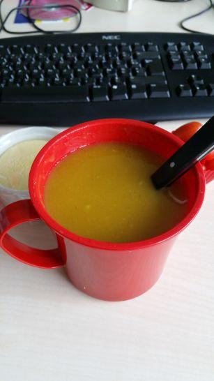 Soupe de courge butternut