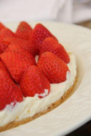 Tarte express fraises - mascarpone