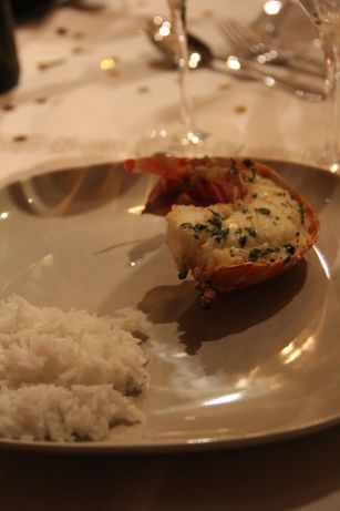 Langoustes en bouillon thaï